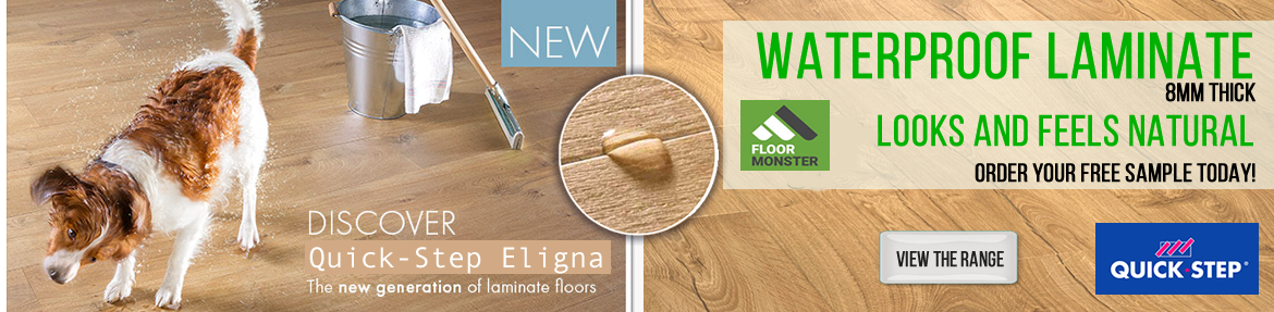 Quickstep Eligna Waterproof Laminate Flooring